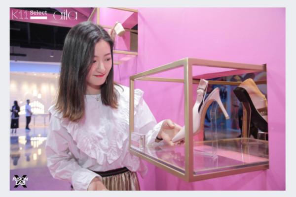 aita牵手K11开启粉色浪潮,解锁武汉时尚打卡新地标!
