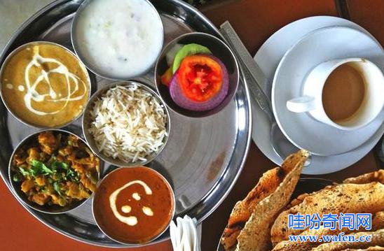 详解中印美食差异印度饮食水平低于中国